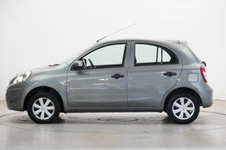 2012 Nissan Micra K13 ST Grey 5 Speed Manual Hatchback.