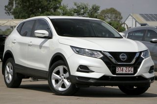 2019 Nissan Qashqai J11 Series 2 ST X-tronic Ivory Pearl 1 Speed Constant Variable Wagon.