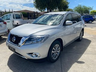 2016 Nissan Pathfinder R52 MY16 ST X-tronic 4WD Silver 1 Speed Constant Variable Wagon