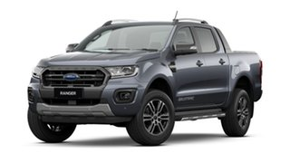 2021 Ford Ranger PX MkIII 2021.25MY Wildtrak Meteor Grey W/ Black Wheel Pac 6 Speed Sports Automatic