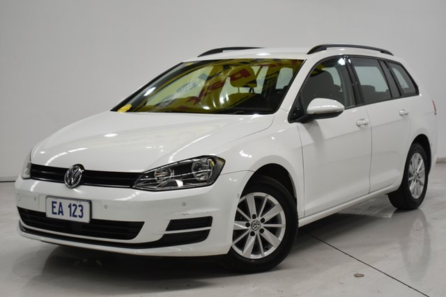 Used Volkswagen Golf VII MY17 92TSI DSG Trendline Brooklyn, 2017 Volkswagen Golf VII MY17 92TSI DSG Trendline White 7 Speed Sports Automatic Dual Clutch Wagon