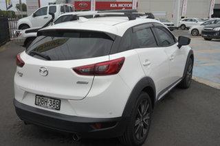 2015 Mazda CX-3 DK4W7A Akari SKYACTIV-Drive i-ACTIV AWD White 6 Speed Sports Automatic Wagon