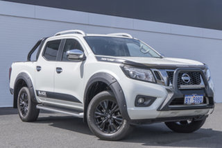 2017 Nissan Navara D23 S2 ST-X N-SPORT Black Edition White 7 Speed Sports Automatic Utility.