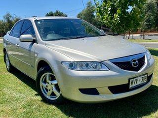 2002 Mazda 6 GG1031 Limited Gold 4 Speed Sports Automatic Sedan.