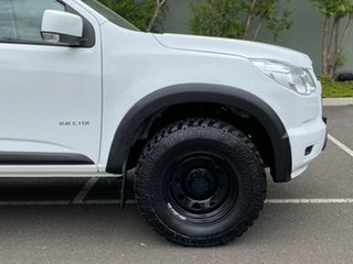 2014 Holden Colorado RG MY14 LX Crew Cab 4x2 White 6 Speed Manual Utility