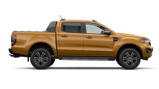 2021 Ford Ranger PX MkIII 2021.25MY Wildtrak Saber 10 Speed Sports Automatic Double Cab Pick Up