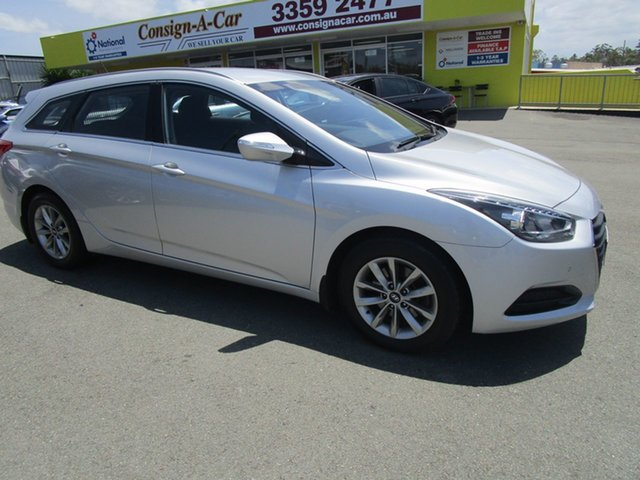 Used Hyundai i40 VF2 Elite Tourer Kedron, 2015 Hyundai i40 VF2 Elite Tourer Silver 6 Speed Sports Automatic Wagon