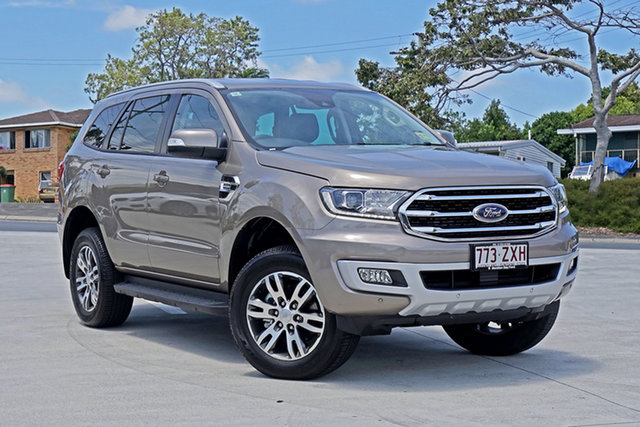 Used Ford Everest UA II 2020.75MY Trend Capalaba, 2020 Ford Everest UA II 2020.75MY Trend Diffused Silver 10 Speed Sports Automatic SUV