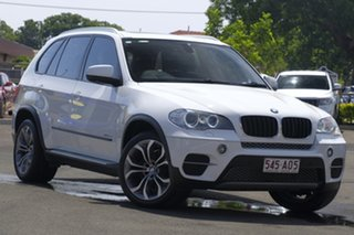 2011 BMW X5 E70 MY12 xDrive30d Steptronic White 8 Speed Sports Automatic Wagon.