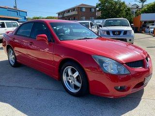 2003 Mitsubishi Magna TL VR-X Red 5 Speed Sports Automatic Sedan.