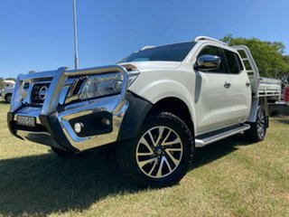 2016 Nissan Navara D23 ST-X White 7 Speed Sports Automatic Utility.