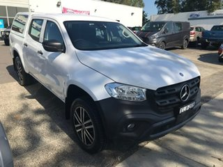 2018 Mercedes-Benz X-Class 470 X250d 4MATIC Pure White 7 Speed Sports Automatic Cab Chassis.