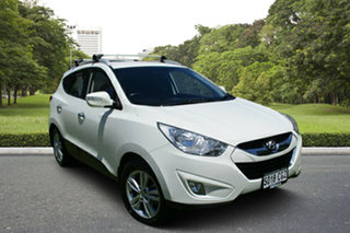 2012 Hyundai ix35 LM MY12 Elite AWD White 6 Speed Sports Automatic Wagon.