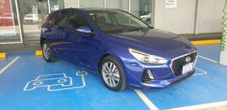 2019 Hyundai i30 PD2 MY20 Active Intense Blue 6 Speed Sports Automatic Hatchback.