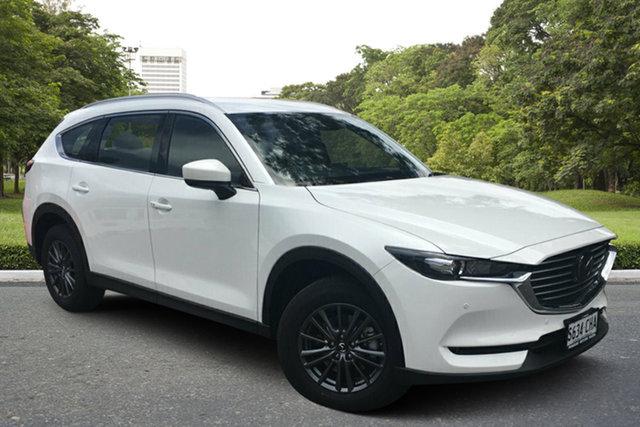 Demo Mazda CX-8 KG2WLA Touring SKYACTIV-Drive FWD Paradise, 2020 Mazda CX-8 KG2WLA Touring SKYACTIV-Drive FWD White Pearl 6 Speed Sports Automatic Wagon