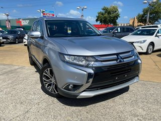 2017 Mitsubishi Outlander ZK MY17 LS 4WD Safety Pack Silver 6 Speed Sports Automatic Wagon.