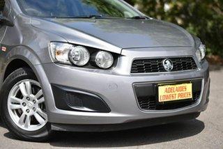 2011 Holden Barina TM Grey 6 Speed Automatic Hatchback