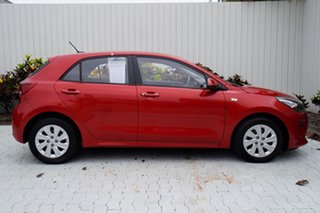 2018 Kia Rio YB MY18 S Red 4 Speed Sports Automatic Hatchback.