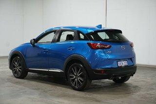 2018 Mazda CX-3 DK4W7A Akari SKYACTIV-Drive i-ACTIV AWD Dynamic Blue 6 Speed Sports Automatic Wagon.