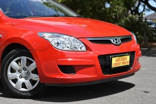 2007 Hyundai i30 FD SX Red 4 Speed Automatic Hatchback