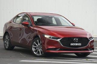 2020 Mazda 3 BP2SLA G25 SKYACTIV-Drive Evolve Red 6 Speed Sports Automatic Sedan.