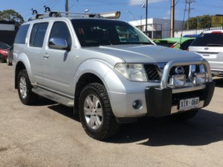 2005 Nissan Pathfinder R51 ST-L Silver 5 Speed Sports Automatic Wagon.