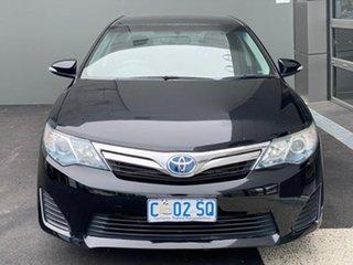 2012 Toyota Camry AVV50R Hybrid H Black 1 Speed Constant Variable Sedan Hybrid.