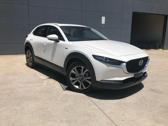 New Mazda CX-30 DM2WLA 100th Anniversary SKYACTIV-Drive Alexandria, 2020 Mazda CX-30 DM2WLA 100th Anniversary SKYACTIV-Drive Snowflake White 6 Speed Sports Automatic