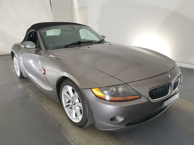 Used BMW Z4 E85 Steptronic Maryville, 2003 BMW Z4 E85 Steptronic Gold 5 Speed Sports Automatic Roadster