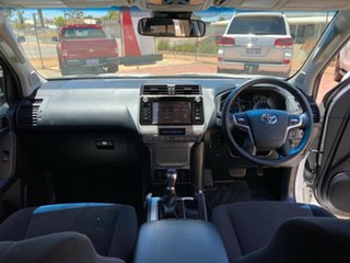 2018 Toyota Landcruiser Prado GDJ150R GXL Glacier 6 Speed Sports Automatic Wagon