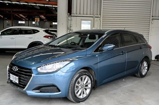 2015 Hyundai i40 VF2 Active Tourer Blue 6 Speed Sports Automatic Wagon