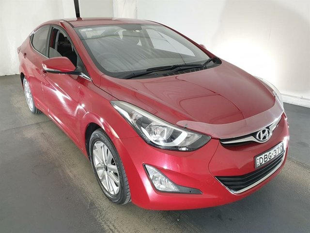 Used Hyundai Elantra MD3 SE Maryville, 2015 Hyundai Elantra MD3 SE Red 6 Speed Sports Automatic Sedan