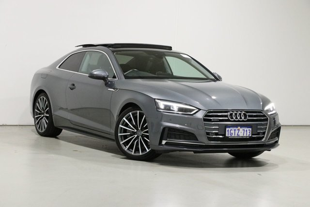 Used Audi A5 8T MY16 2.0 TFSI Quattro Bentley, 2016 Audi A5 8T MY16 2.0 TFSI Quattro Silver 7 Speed Auto Direct Shift Coupe