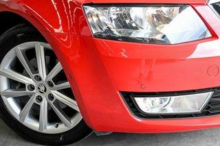 2016 Skoda Octavia NE MY16 Ambition Plus DSG 110TSI Red 7 Speed Sports Automatic Dual Clutch Wagon.