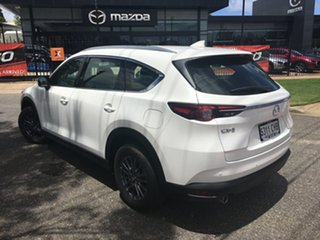 2020 Mazda CX-8 KG2WLA Sport SKYACTIV-Drive FWD White Pearl 6 Speed Sports Automatic Wagon