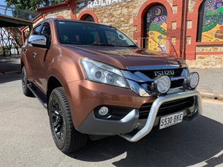 2015 Isuzu MU-X MY15 LS-T Rev-Tronic Outback Bronze 5 Speed Sports Automatic Wagon.
