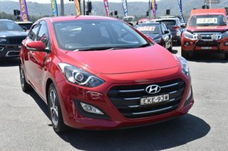 2015 Hyundai i30 GD4 Series II MY16 Active X Red 6 Speed Manual Hatchback