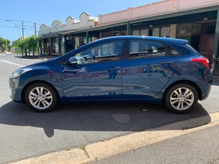 2014 Hyundai i30 GD2 MY14 Trophy Dazzling Blue 6 Speed Sports Automatic Hatchback