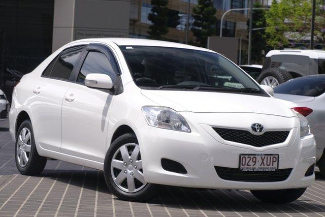Used Toyota Yaris NCP93R YRS Newstead, 2013 Toyota Yaris NCP93R YRS White 4 Speed Automatic Sedan