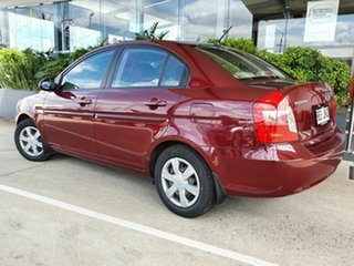 2006 Hyundai Accent Red 4 Speed Automatic Sedan