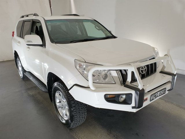 Used Toyota Landcruiser Prado KDJ150R GXL Maryville, 2011 Toyota Landcruiser Prado KDJ150R GXL White 5 Speed Sports Automatic Wagon