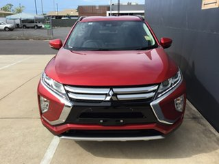 2019 Mitsubishi Eclipse Cross YA MY19 LS 2WD Red 8 Speed Constant Variable Wagon.