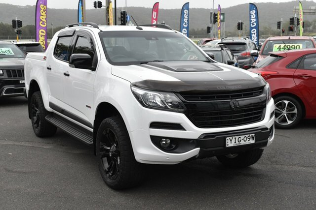 Used Holden Colorado RG MY19 Z71 Pickup Crew Cab Gosford, 2018 Holden Colorado RG MY19 Z71 Pickup Crew Cab Summit White 6 Speed Sports Automatic Utility