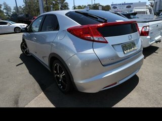 2013 Honda Civic FK MY13 VTi-S Silver 5 Speed Automatic Hatchback.