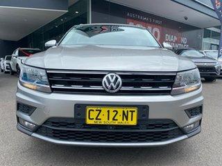 2018 Volkswagen Tiguan 5N MY18 110TSI DSG 2WD Comfortline Silver 6 Speed.
