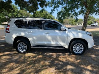 2016 Toyota Landcruiser Prado GDJ150R Kakadu Crystal Pearl 6 Speed Sports Automatic Wagon.