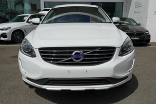 2014 Volvo XC60 DZ MY15 D5 Luxury White 6 Speed Automatic Geartronic Wagon