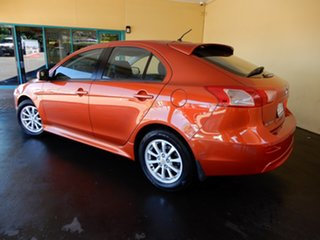 2012 Mitsubishi Lancer CJ MY12 ES Sportback Orange 6 Speed CVT Auto Sequential Hatchback.