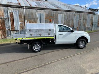 2015 Mitsubishi Triton MN MY15 GL 4x2 White 5 Speed Manual Cab Chassis