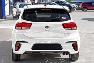 2020 Kia Rio YB MY21 GT-Line DCT White 7 Speed Sports Automatic Dual Clutch Hatchback.